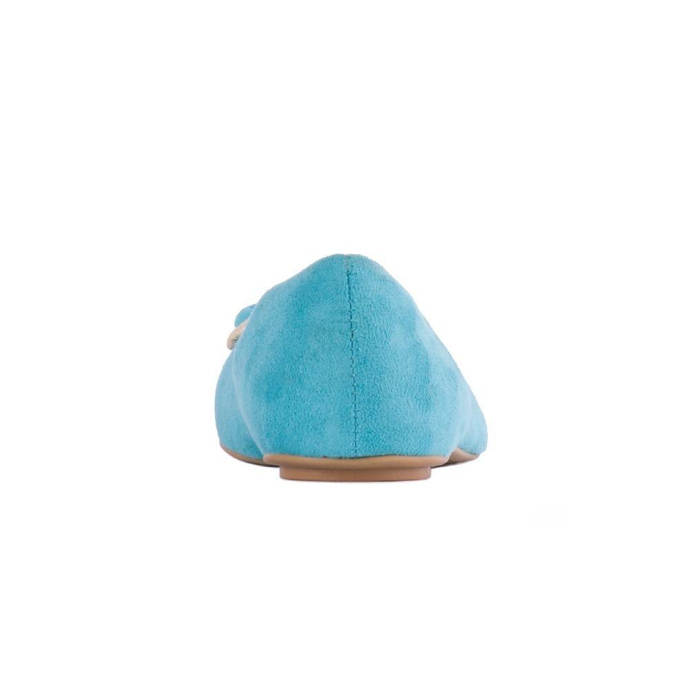 Azul Sapatilha Com Camilly Sapatilha Flor Top Camilly Y8xRCp7wnq