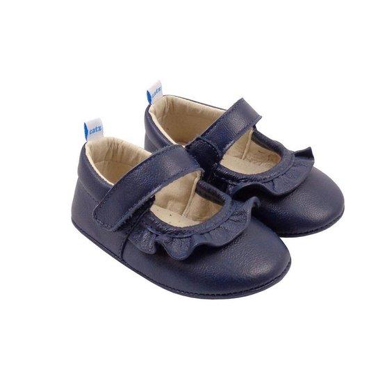 Sapatilha Charlotte Catz Calçados em Couro Infantil - Marinho