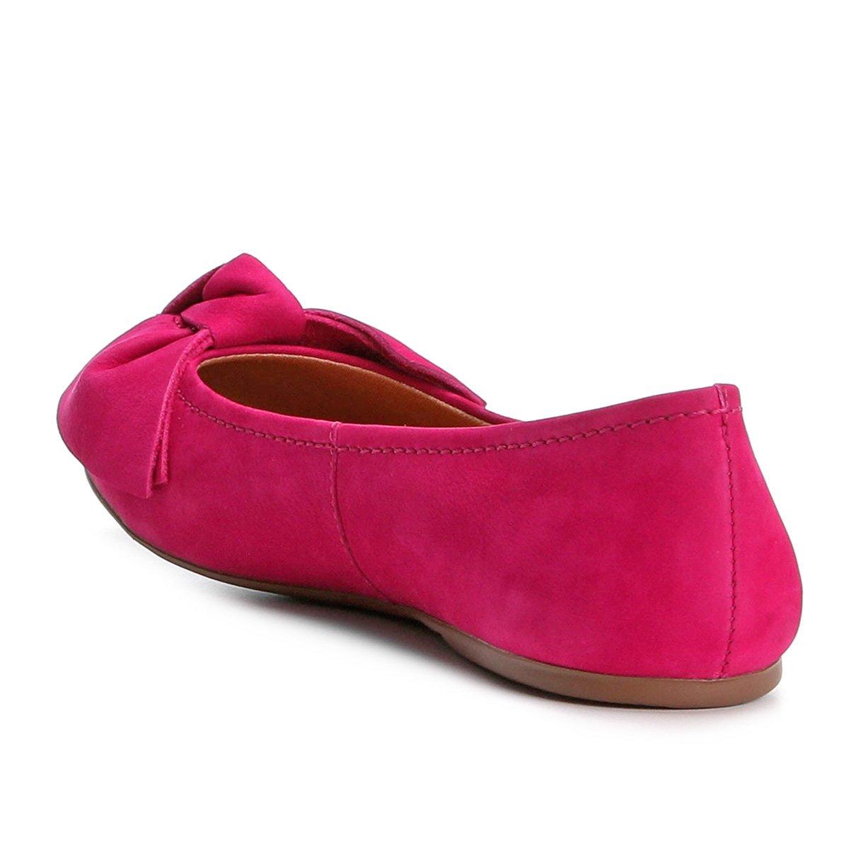 Nobuck Couro Loucos Pink Pink Loucos Santos Couro Laço Sapatilha Sapatilha Laço amp; Feminina Santos amp; Feminina Nobuck Sapatilha xSwBAqC