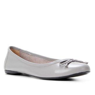 Sapatilha Couro Shoestock Básica Laço Feminina