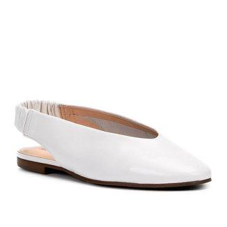 Sapatilha Couro Shoestock High Vamp Feminina