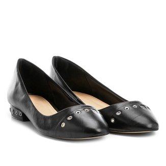 Sapatilha Couro Shoestock Rocker Feminina