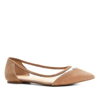 Sapatilha Couro Shoestock Vinil Feminina