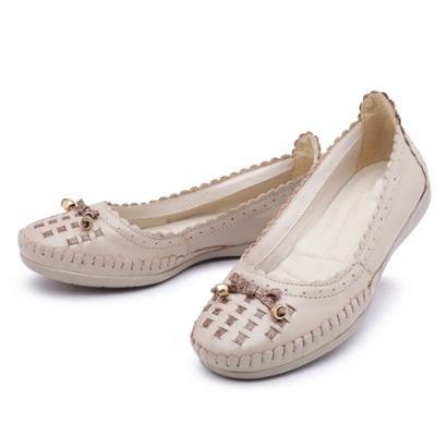 fb8cee5a0db Sapatilha Couro Top Franca Shoes Feminina-Feminino