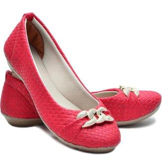 Sapatilha DED Calçados Bico Redondo Feminina