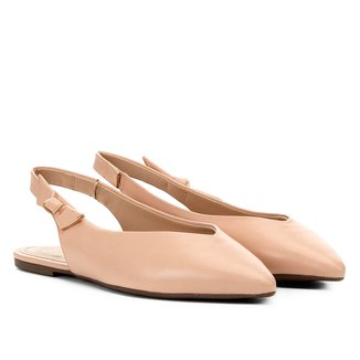 Sapatilha Dumond Chanel Bico Flat Feminina