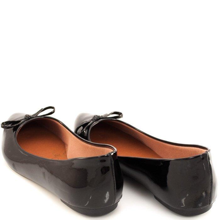 Sapatilha Envernizada Sapato Feminina Show Envernizada Sapatilha Preto rO4wa8rqx