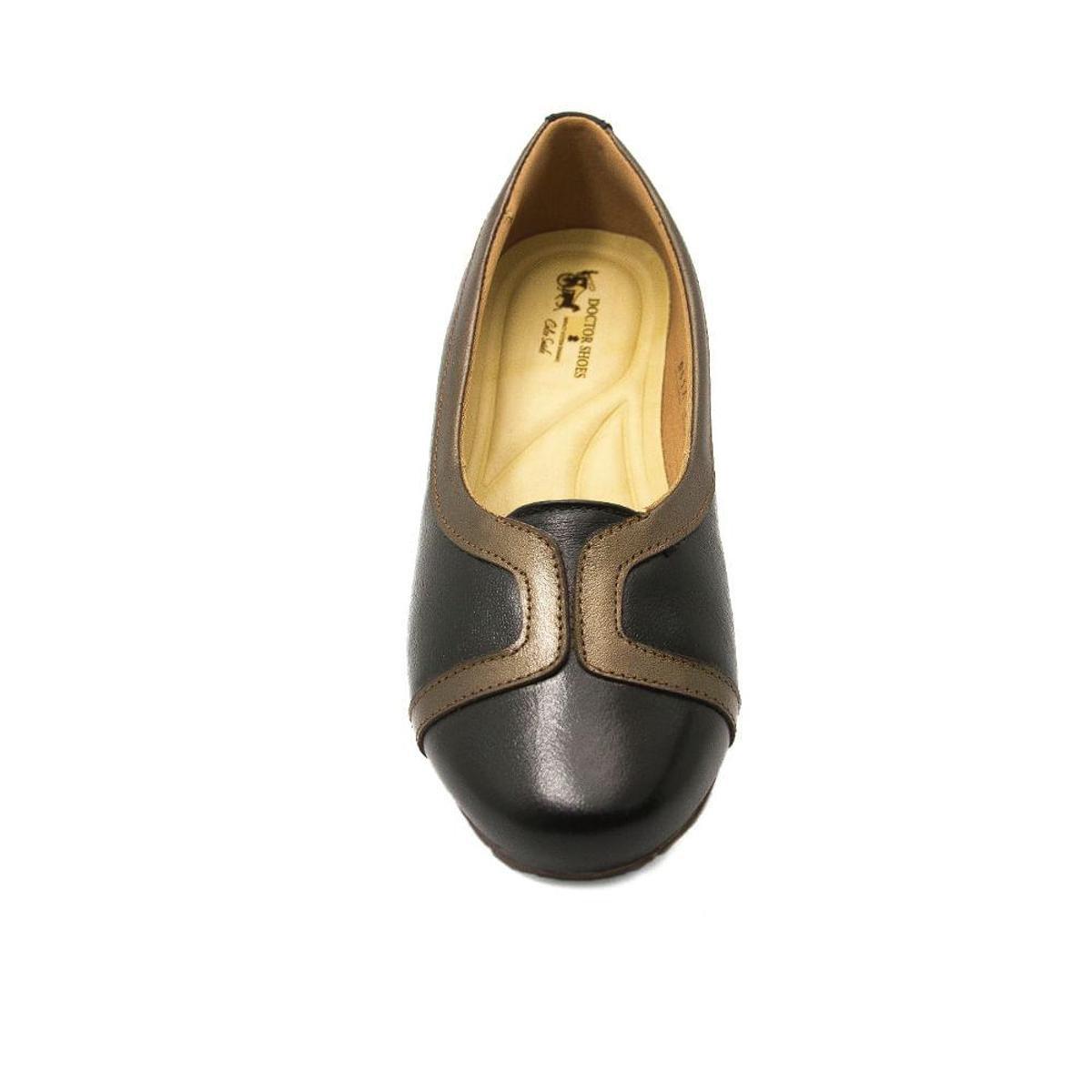 Shoes Couro Doctor Sapatilha Sapatilha Feminina Preto 1329 em Feminina qn4vwB4F