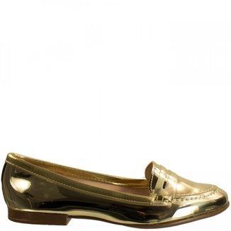 Sapatilha Feminina Moleca Metal Glamour 5281.204