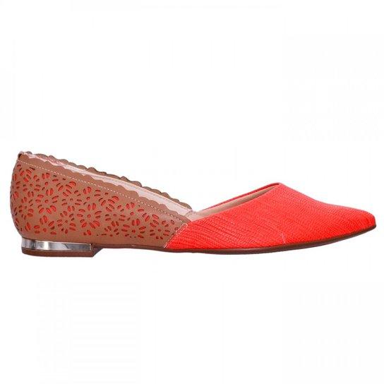 Sapatilha Feminina Piccadilly Napa 274030 - Coral
