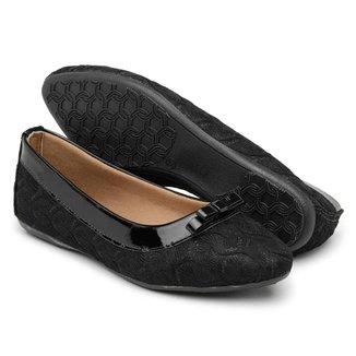 Sapatilha Gomes Shoes Renda Bico Fino Feminina