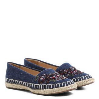 Sapatilha Infantil Shoestock Bordado Flor Feminina