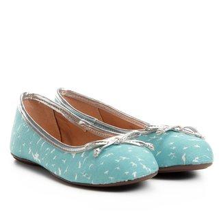 Sapatilha Infantil Shoestock Tecido Feminina