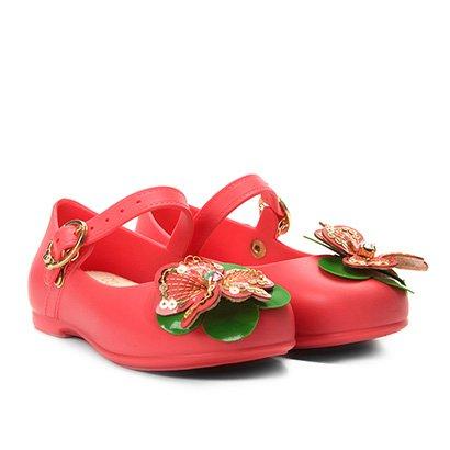 Sapatilha Infantil World Colors Flor Feminina