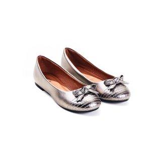 Sapatilha Napa Mizzi Shoes Matelassê com Bico Redondo Feminina