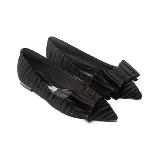 Sapatilha Nobuk Mizzi Shoes Tigre Bico fino