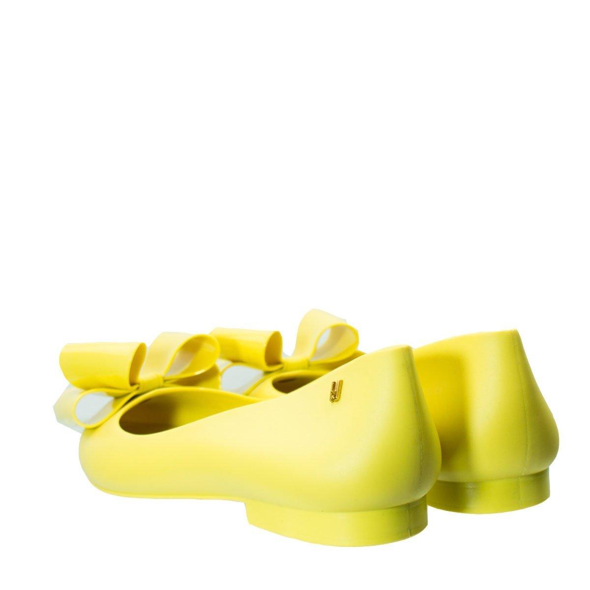 Jolie J Lastic Sapatilha Petite Petite Jolie PVC Amarelo Sapatilha wpqqIPBfx
