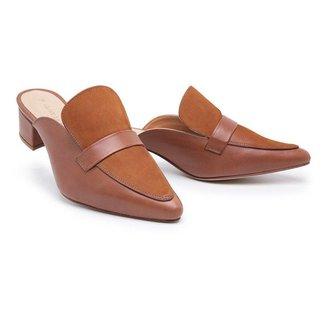 Sapatilha Sandalo Mule Clave Feminina
