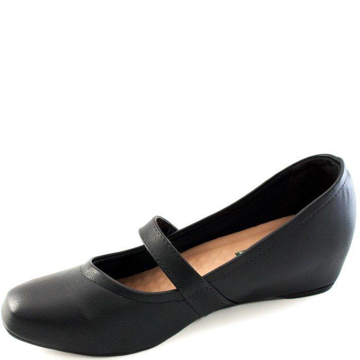 Feminina Bico Quadrado Quadrado Sapato Feminina Sapatilha Show Sapatilha Preto Preto Sapato Bico Show 6FxPRq