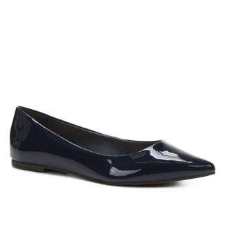 Sapatilha Shoestock Básica Bico Fino Feminina