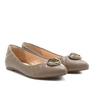 Sapatilha Shoestock Bico Fino Matelassê