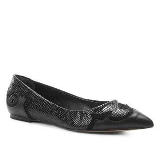 Sapatilha Shoestock Bico Fino Western Feminina