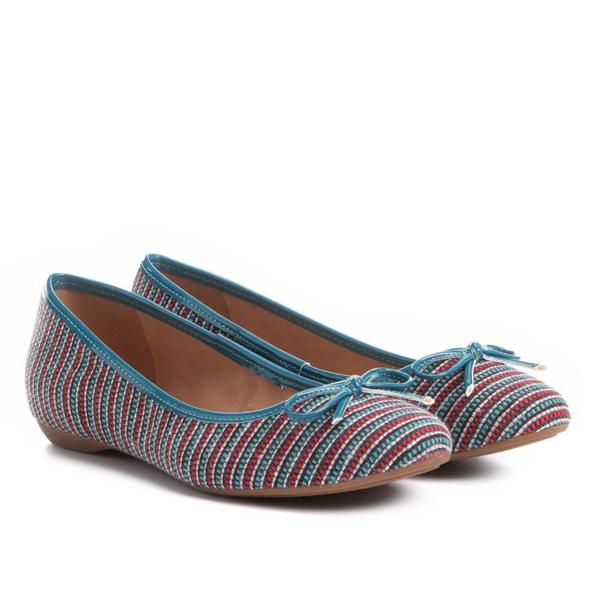 903d3b0ae Sapatilha Shoestock Bico Redondo Laço Feminina - Compre Agora | Zattini