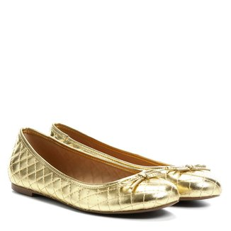 Sapatilha Shoestock Bico Redondo Matelassê