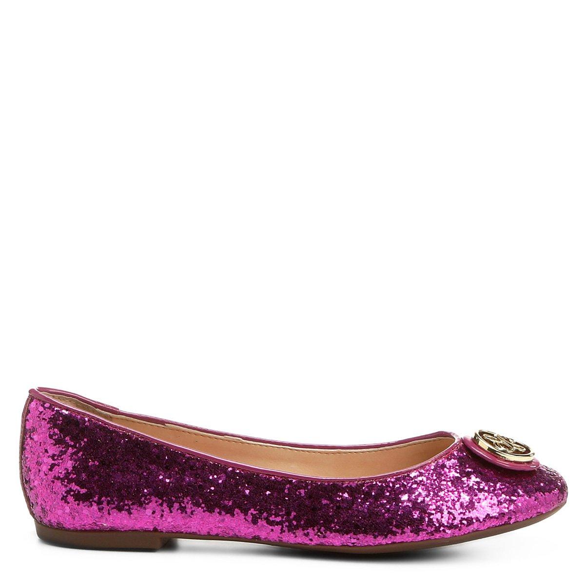 Medalha Sapatilha Shoestock Shoestock Glitter Pink Sapatilha Medalha Glitter 6q46rwY