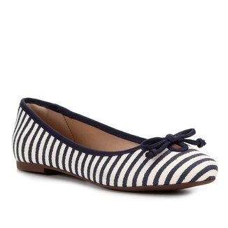 Sapatilha Shoestock Laço Gorgurão Feminina