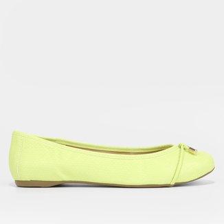 Sapatilha Shoestock Textura Laço Feminina