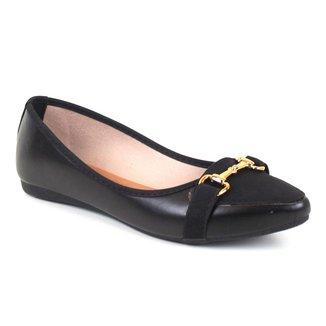 Sapatilha Tag Shoes Bico Fino Fivela Feminino