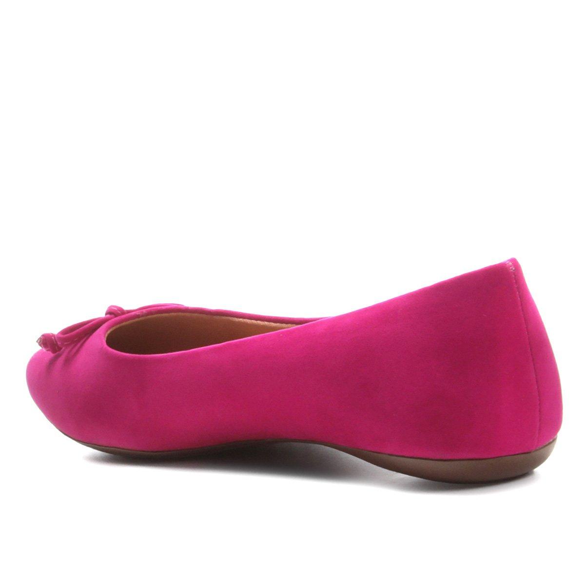 Sapatilha Feminina Pink Via Via Bico Sapatilha Sapatilha Uno Uno Bico Feminina Pink Quadrado Quadrado qprRAqS