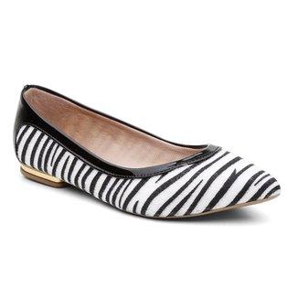 Sapatilha Violanta Africa Zebra Feminina