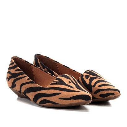 Sapatilha Vizzano Slipper Zebra Feminina