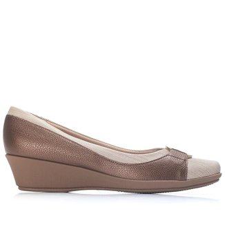 Sapato Anabela Médio    Feminino