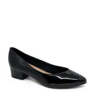 Sapato Beira Rio Salto Baixo 4244.101 Verniz Feminino