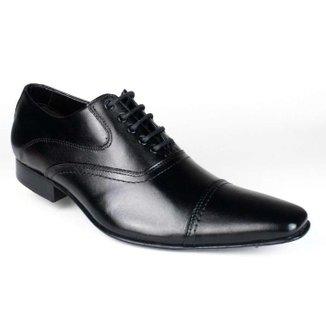 Sapato Bigioni Oxford Social Masculino Cadarço Sola Couro