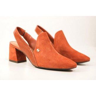 Sapato Bottero Slingback Bico Fino Feminino