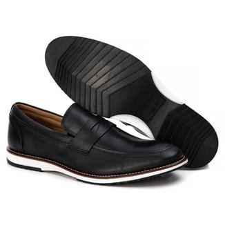 Sapato Brogue Premium Couro Comfort Andora Tchwm Shoes Masculino