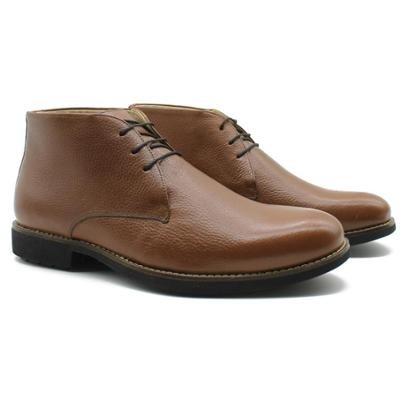 Sapato Casual Adolfo Turrion Liso Confort Masculino