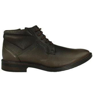 Sapato Casual Cano Alto Ferracini Leather Masculino