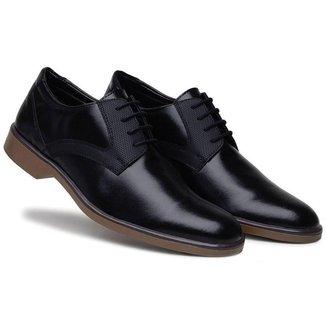 Sapato Casual Comfort Com Cardaço Sola  Masculino