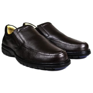 Sapato Casual Conforto Couro Floater 3040