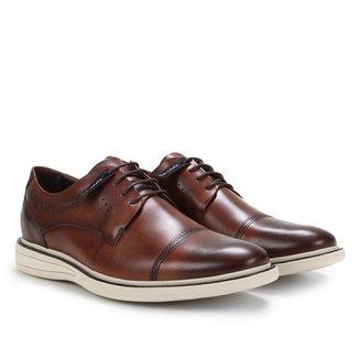 Sapato Casual Couro Democrata Bay Masculino