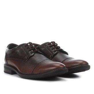 Sapato Casual Couro Ferracini Clear Brogue