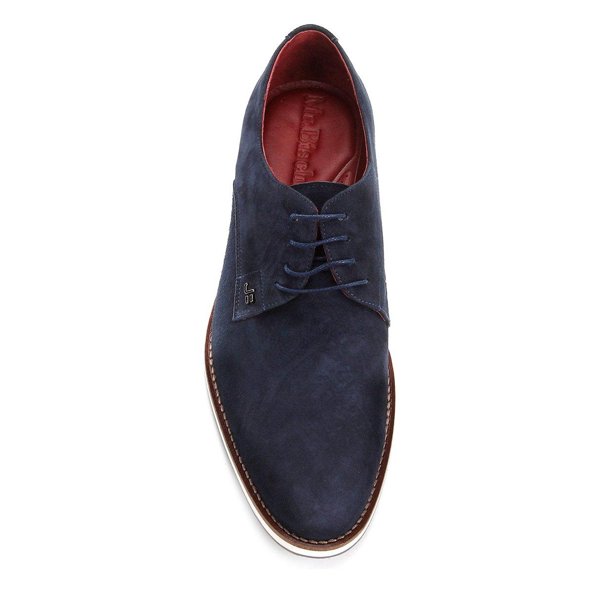 Sapato Casual Couro Jorge Bischoff - Marinho