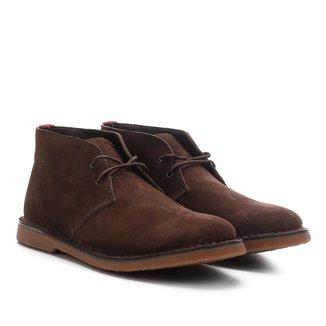 Sapato Casual Couro Kildare Camurção Cano Médio Masculino