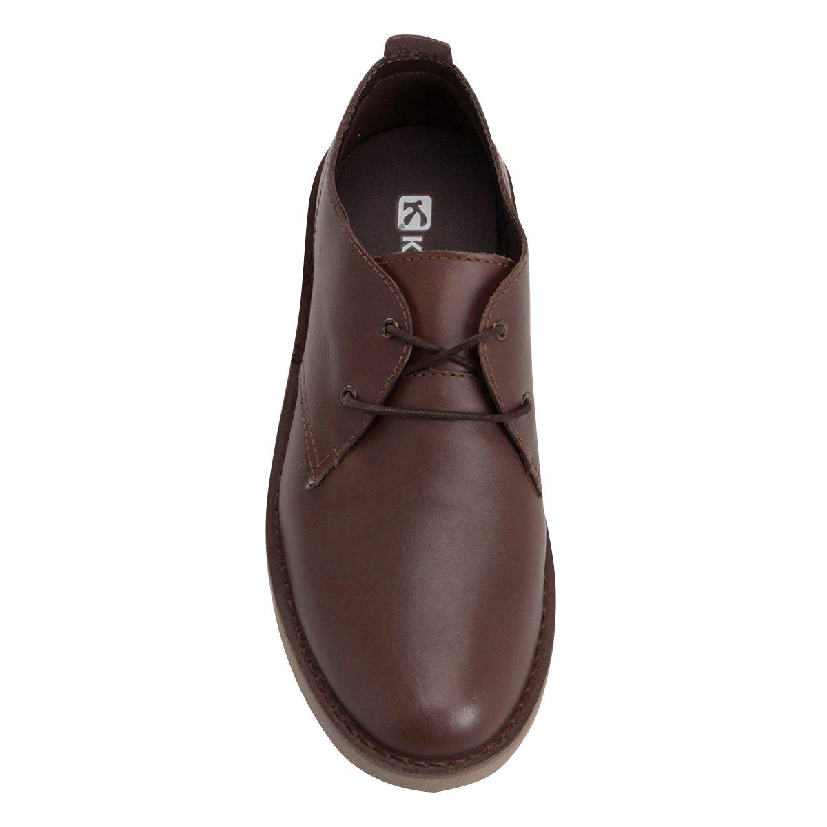 4de9b15541 Sapato Casual Couro Kildare Filey - Compre Agora