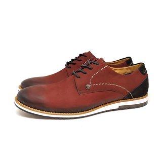 Sapato Casual Couro Malibu Avalon Masculino